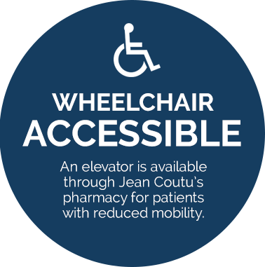 wheelchair accessible clinic